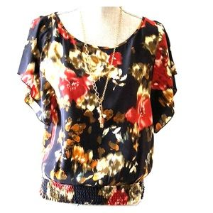 Matty M silk blouse